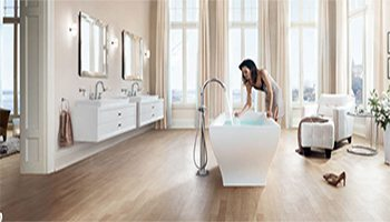 entretien sanitaires, installation salle de bain, maintenance baignoire