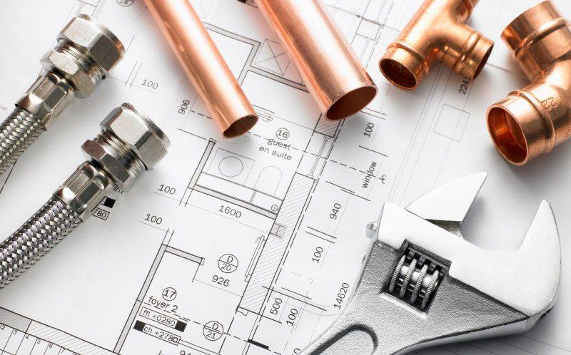 plan outils réparation plomberie