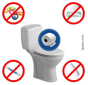 produits interdit jetet toilette