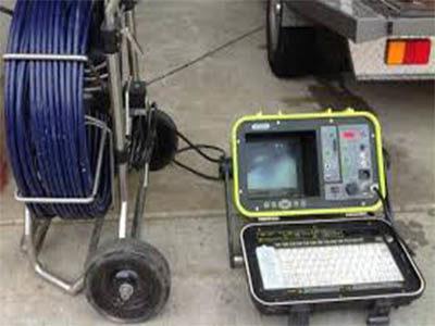 Inspection canalisation avec camér d'inspection