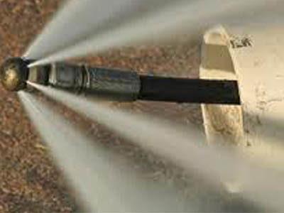 Débouchage égout avec un hydrodynamique