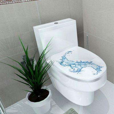 Toilette en bon état
