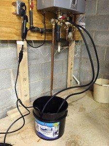 procédé détartrage chauffe eau