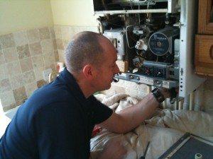 technicien entretien chaudière