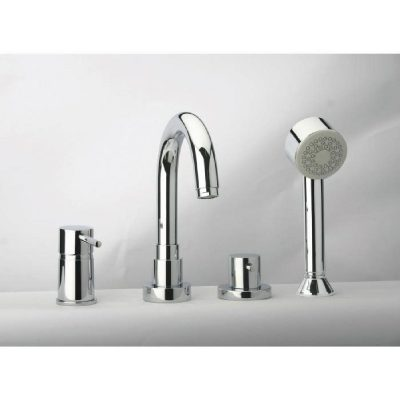 aménagement salle de bain avec robinet
