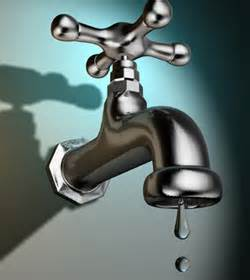fuite d'eau au robinet
