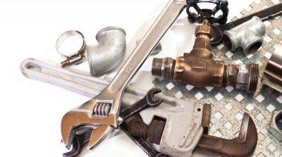 outils de réparation fuite canalisation