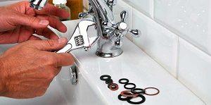 Réparation du joint après une fuite robinet