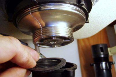 Réparer une fuite évier